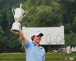 Rory McIlroy Signed 16 x 20 Photo PSA/DNA