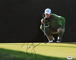 Zach Johnson Signed 11 x 14 Photo PSA