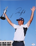 Padraig Harrington Signed 11 x 14 Photo JSA