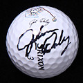 John Daly Signed Tour Used Srixon Ball PSA