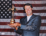 Paul Azinger Signed 11 x 14 Photo JSA