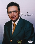 Tommy Aaron Signed 8 x 10 Photo JSA