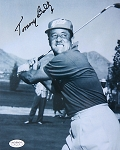Tommy Bolt Signed 8 x 10 Photo JSA