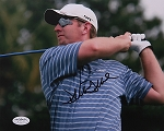 David Duval Signed 8 x 10 Photo JSA