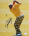 John Daly Signed 8 x 10 Photo JSA