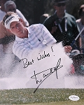 Luke Donlad Signed 8 x 10 Photo JSA