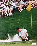 Ernie Els Signed 8 x 10 Photo JSA