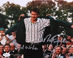 Nick Faldo Signed 8 x 10 Photo JSA