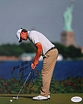 Lucas Glover Signed 8 x 10 Photo JSA