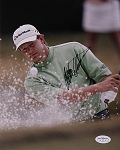 Retief Goosen Signed 8 x 10 Photo JSA