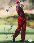 Sergio Garcia  Signed 8 x 10 Photo JSA