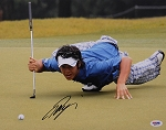 Ryo Ishikawa Signed 11 x 14 Photo PSA