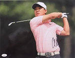 Anthony Kim Signed 11 x 14 Photo JSA