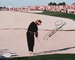 Benhard Langer Signed 8 x 10 Photo JSA