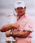 Graeme McDowell  Signed 8 x 10 Photo JSA