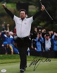Graeme McDowell Signed 11 x 14 Photo PSA