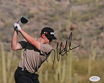 Hunter Mahan Signed 8 x 10 Photo JSA