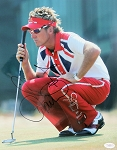 Ian Poulter Signed 11 x 14 Photo JSA
