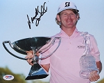 Brandt Snedeker Signed 8 x 10 Photo PSA