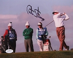 Curtis Strange Signed 8 x 10 Photo JSA