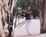 Charl Schwartzel Signed 8 x 10 Photo JSA