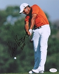 Jhonattan Vegas Signed 8 x 10 Photo JSA