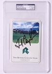 Fred Couples Signed Riviera Scorecard PSA