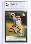 Fred Couples Signed 2001 UD Card GAI