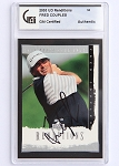 Fred Couples Signed 2003 UD Renditions GAI