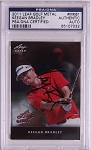 Keegan Bradley Signed 2011 Leaf Metal  PSA