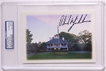 Phil Mickelosn Signed Masters Greeting Card PSA
