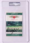 Phil Mickelosn Baltusrol Signed Scorecard PSA