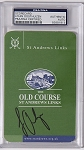 Louis Oosthuizen  Signed St Andrews Scorecard PSA