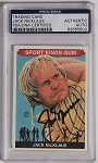 Jack Nicklaus Signed 2010 Sport Kings  PSA