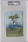 Phil Mickelosn Torrey Pines Signed Scorecard PSA