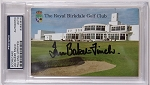 Ian Baker Finch Signed Royal Birkdale Scorecard  PSA