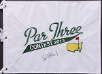 Ted Potter Jr. Signed Masters Par 3 Flag JSA