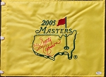 Scotty Cameron Signed Masters Flag JSA