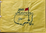 Jack Nicklaus Signed 2005 Masters Flag PSA   (Full Letter)