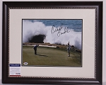 Brandt Snedeker Signed & Framed 11 x 14 Photo PSA