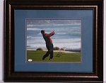 David Duval Signed & Framed 11 x 14 Photo JSA
