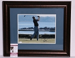 Davis Love III Signed & Framed 11 x 14 Photo JSA