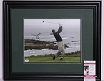 Jim Furyk Signed & Framed 11 x 14 Photo JSA