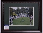 Matt Kuchar Signed & Framed 11 x 14 Photo PSA