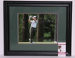 Mike Weir  Signed & Framed 11 x 14 Photo JSA