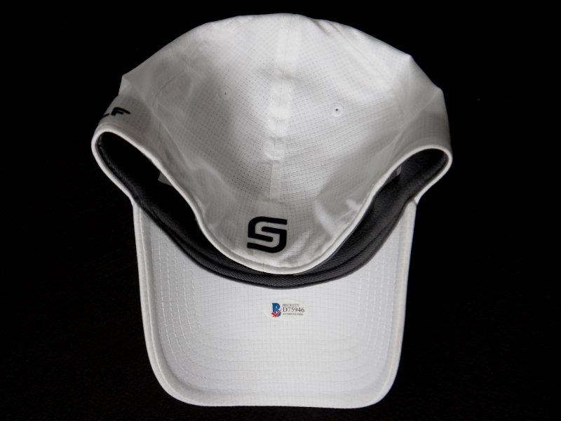 a69e5aa2d72 ... jordan spieth signed under armour tour hat white psa dna