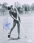 Nancy Lopez Signed 8 x 10 Photo JSA