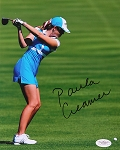 Paula Creamer  Signed 8 x 10 Photo JSA