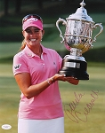 Paula Creamer Signed 11 x 14 Photo JSA