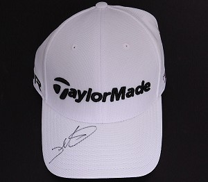 Darren Clarke Signed Taylor Made SLDR Tour Hat PSA/DNA